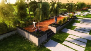 3d, 3d Exterior, 3ds max, Concept, Design, ifthikhar, Inspiration, Landscape, Modern, Multiscatter, vray, Contemporary,