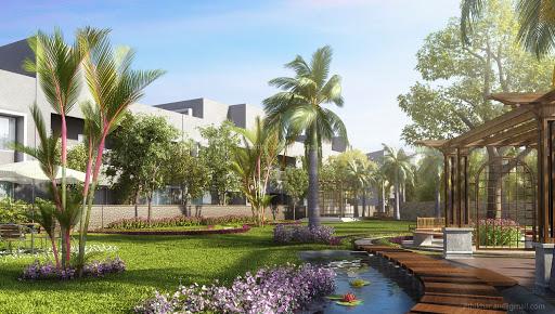 Modern Contemporary Landscape Designs In 3dsmax Vray