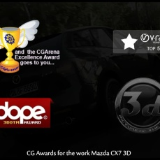 Some of the awards for Mazda cx7 3d