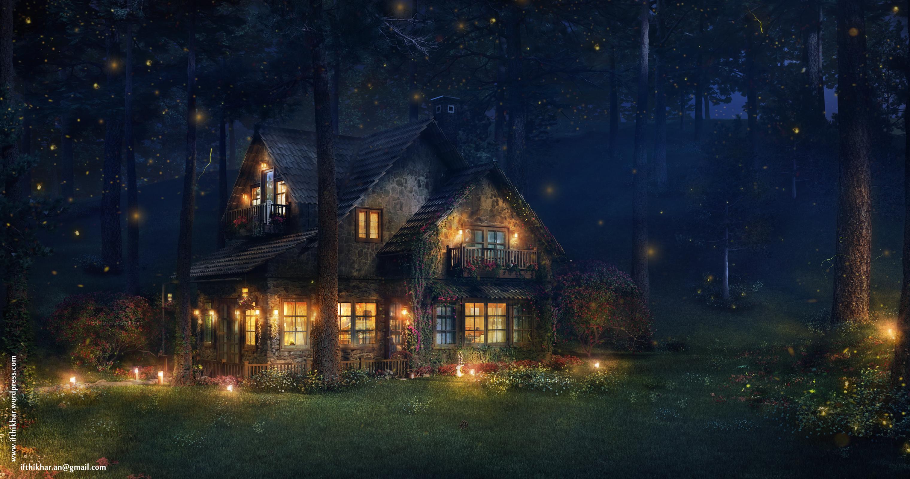 Mountain cottages, storybook style, folkloric, and English Tudor style ...