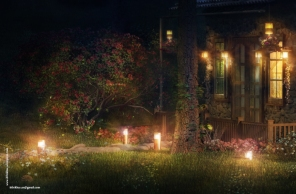 Details: The FireFly Cottage - 3dsmax Vray - Case study, Cottage Architecture