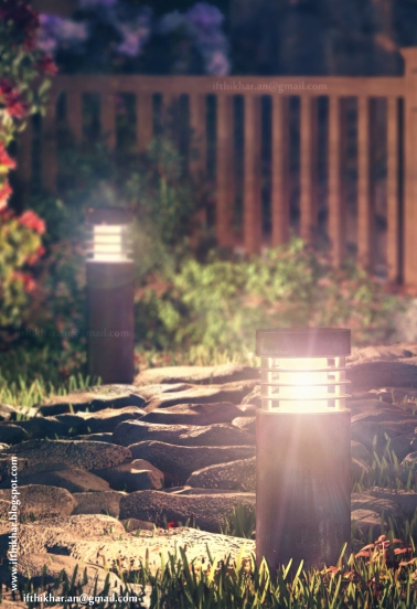 Night tight shot - The FireFly Cottage - 3dsmax Vray - Case study, Cottage Architecture
