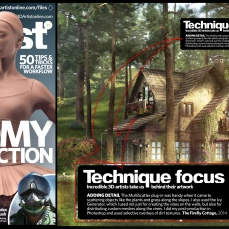Ifthikhar AN published in 3D Artist Magazine