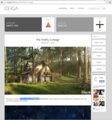 Ifthikhar featured in Ceiga magazine again!