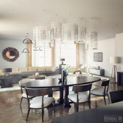 Vray 3dsmax photo-realistic interior render 2016